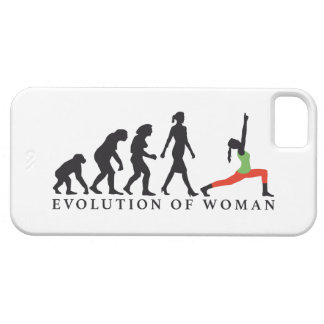 evolution OF woman yoga position Case For The iPhone 5