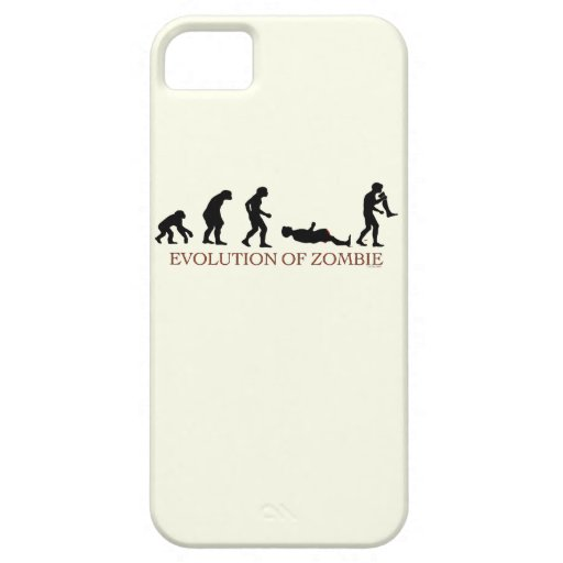 Evolution of Zombie iPhone 5 Covers