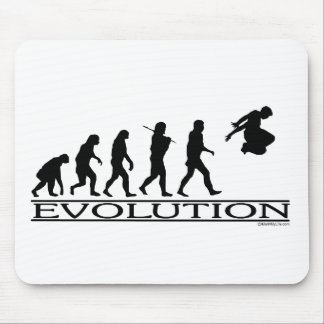 Evolution Parkour Mouse Pad