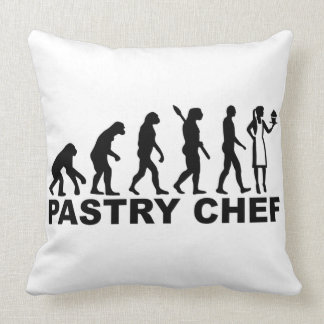 Evolution pastry chef cushion