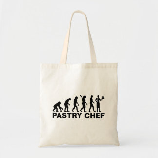 Evolution pastry chef tote bag