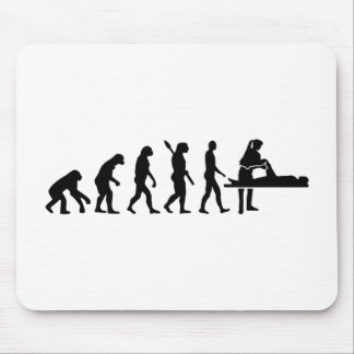 Evolution physiotherapist mouse pad