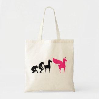 Evolution Pink Unicorn Llama with Wings Bag