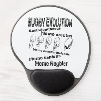 Evolution rugby gel mousepads
