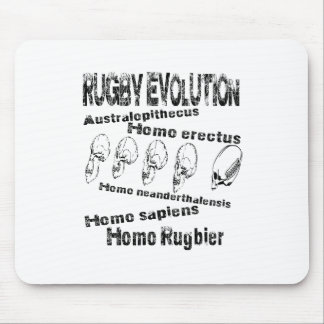 Evolution rugby mouse pad