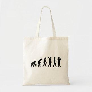 Evolution security guard tote bag