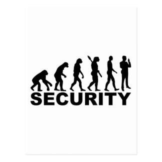 Evolution security postcard