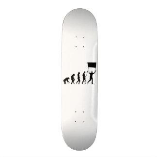 Evolution sign skate boards