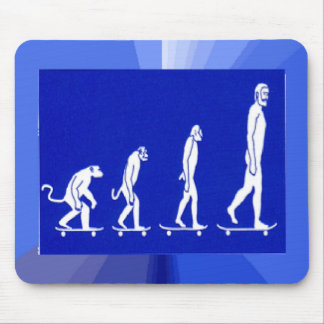 EVOLUTION SKATEBOARD  mouse pad