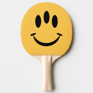 Evolution Smiley Face Ping Pong Racket Ping Pong Paddle