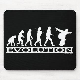 Evolution - Snowboarding Mouse Pad