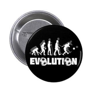 Evolution Soccer Pinback Button