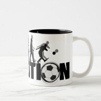 Evolution Soccer Mug