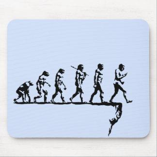 Evolution Social Extinction Mouse Pad