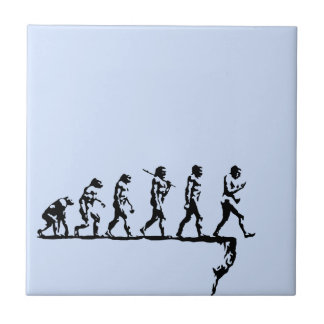 Evolution Social Extinction Tile