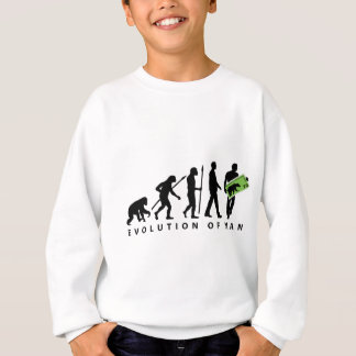 evolution stamp collector philatelist sweatshirt