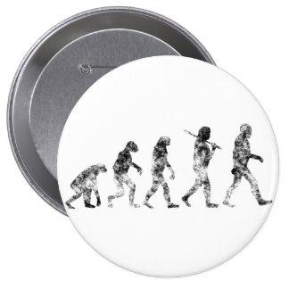 Evolution Standard - Clouds 10 Cm Round Badge