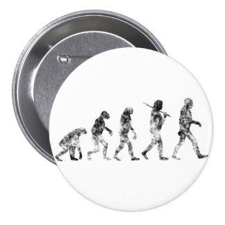 Evolution Standard - Clouds 7.5 Cm Round Badge