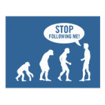 evolution - stop following me!