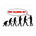 Evolution. Stop Following Me