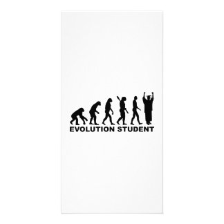 Evolution Student Photo Card Template