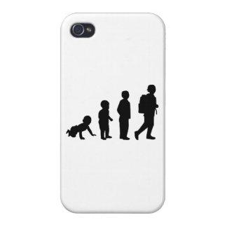 Evolution student school iPhone 4 cases