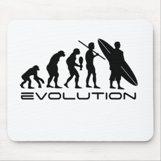 Evolution Surfer Mouse Pad
