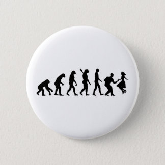 Evolution swing dance 6 cm round badge