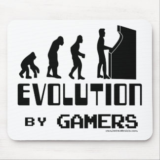 Evolution t-shirt by Gamers Mouse Pad