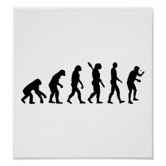 Evolution Table tennis Poster
