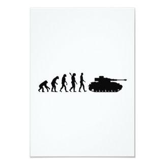 Evolution Tank Custom Invitations
