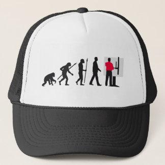 Evolution technical draftsman architect trucker hat