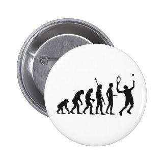 evolution tennis 6 cm round badge