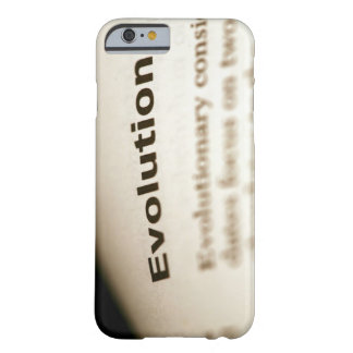Evolution text on page barely there iPhone 6 case