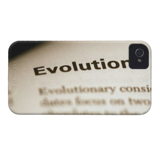 Evolution text on page Case-Mate iPhone 4 cases