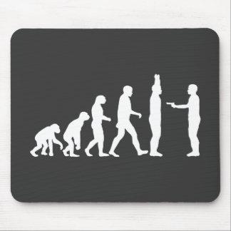 Evolution to De-evolution Mouse Pad