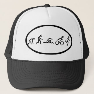 Evolution tri Eclipse Trucker Hat