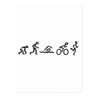 Evolution Tri Postcard