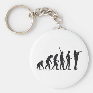evolution trumpet more player key ring