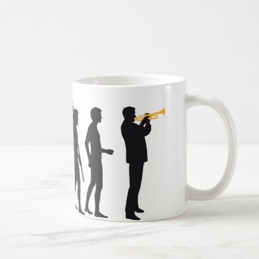 evolution trumpet more player mug