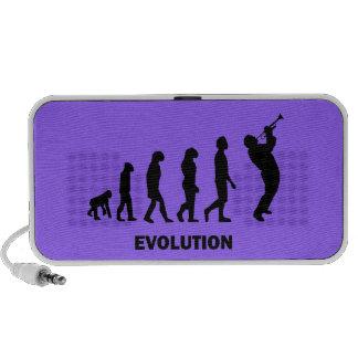 evolution trumpet notebook speakers