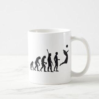 evolution volleyball coffee mug