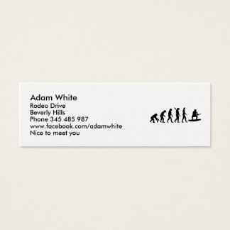 Evolution Wakeboarding Mini Business Card