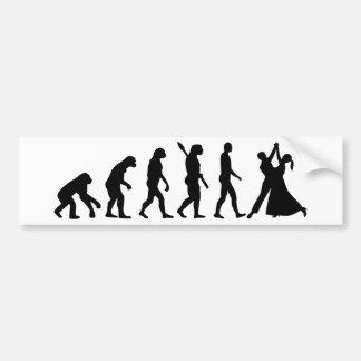 Evolution Waltz Bumper Sticker