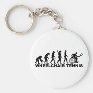 Evolution wheelchair tennis key ring