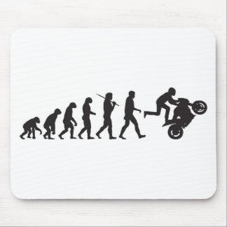 Evolution - Wheelie Mouse Pad