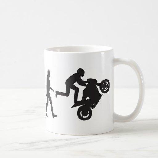 Evolution-Wheelie Mug