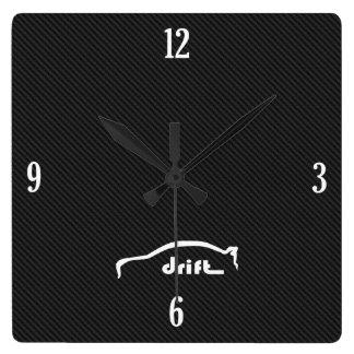 Evolution X Drift Brushstroke Logo Clocks