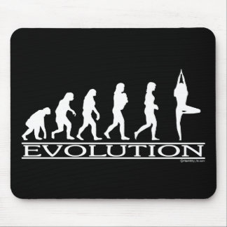 Evolution - Yoga Mouse Pad