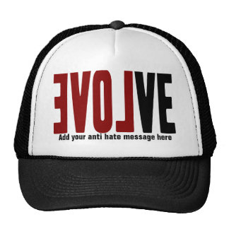 Evolve with LOVE Trucker Hats